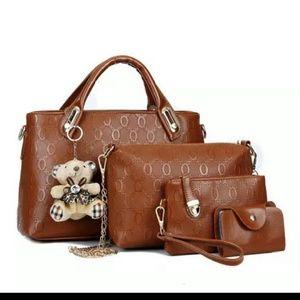 Handbags - high quality 4pcs bag set